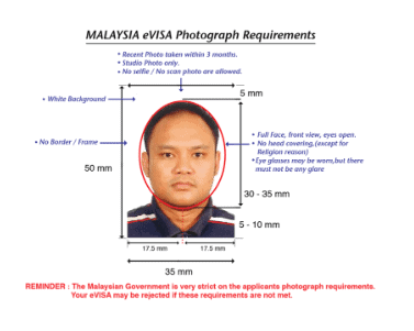 malaysia visa photo specification