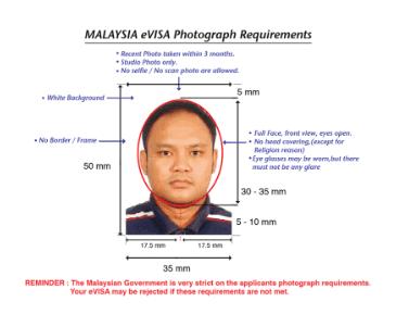 malaysia visa photo specification