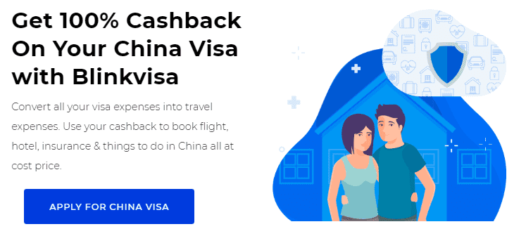 apply for china visa from blinkvisa