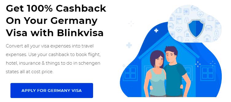 Germany Visa Cashback