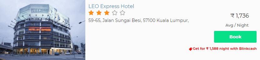 Kuala Lumpur Hotel Booking