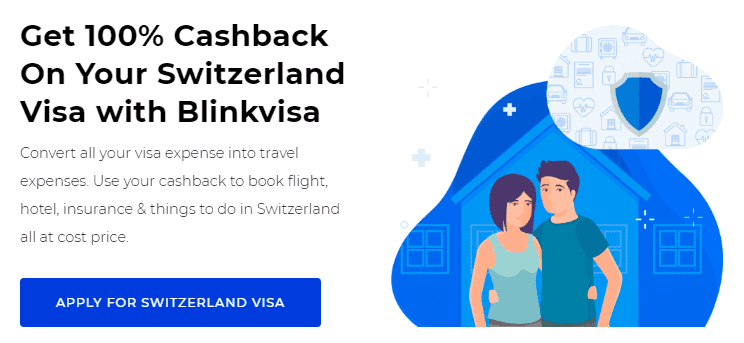 Switzerland Visa Cashback
