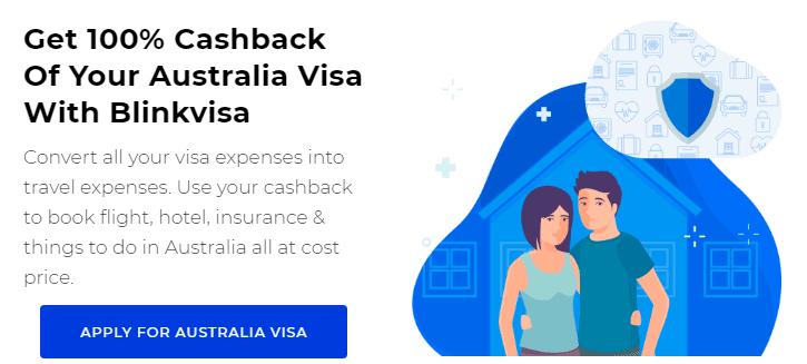 Australia Visa Cashback