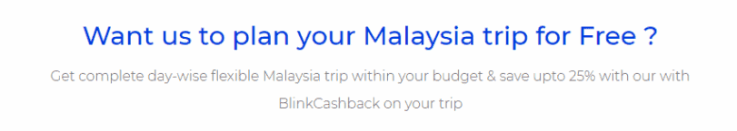 Malaysia Travel Plan