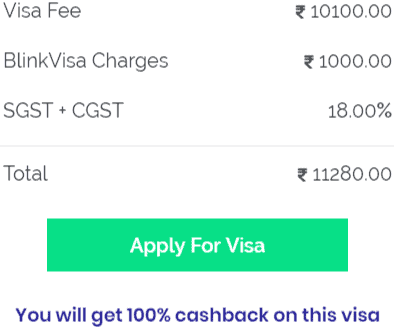Canada visitor visa fee