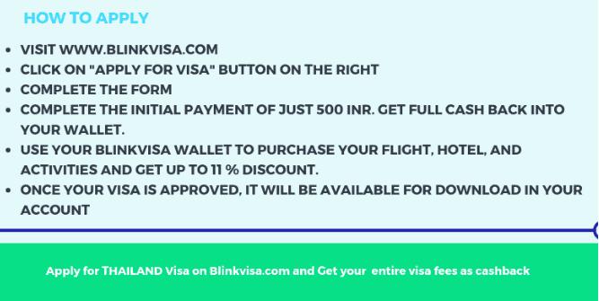 Thailand visa for Indians