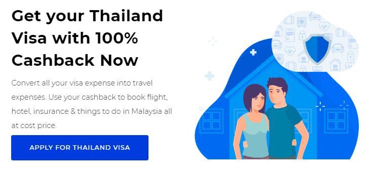 Thailand Visa cashback