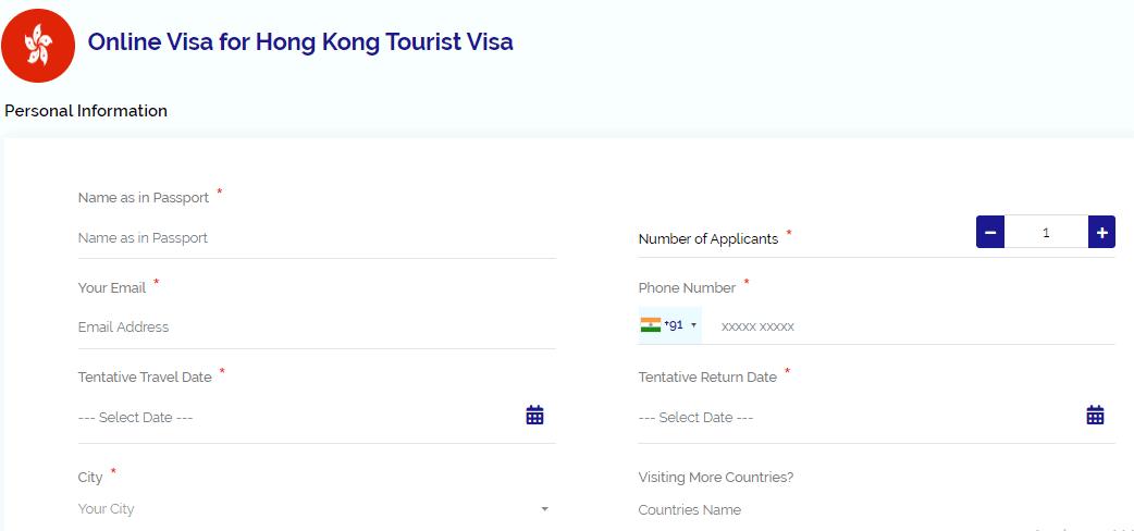 user information page Hong Kong