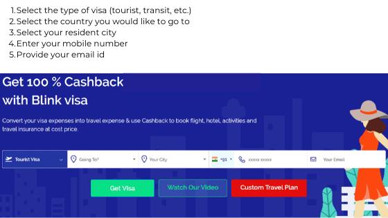 Apply for visa online