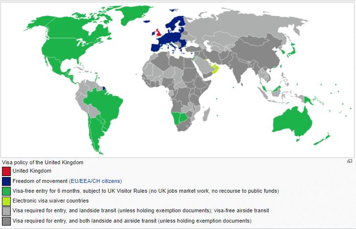 UK visa exemption