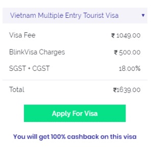 Vietnam multiple entry visa