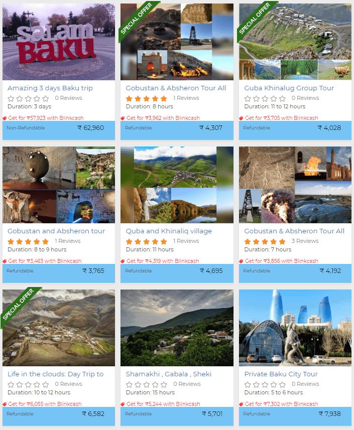 Baku activities