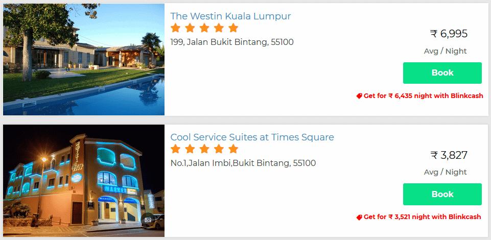 malaysia hotel discounts
