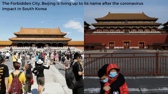 Beijing before and after coronavirus