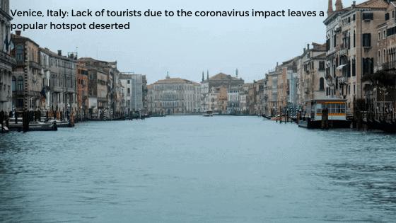 Coronavirus impact Italy