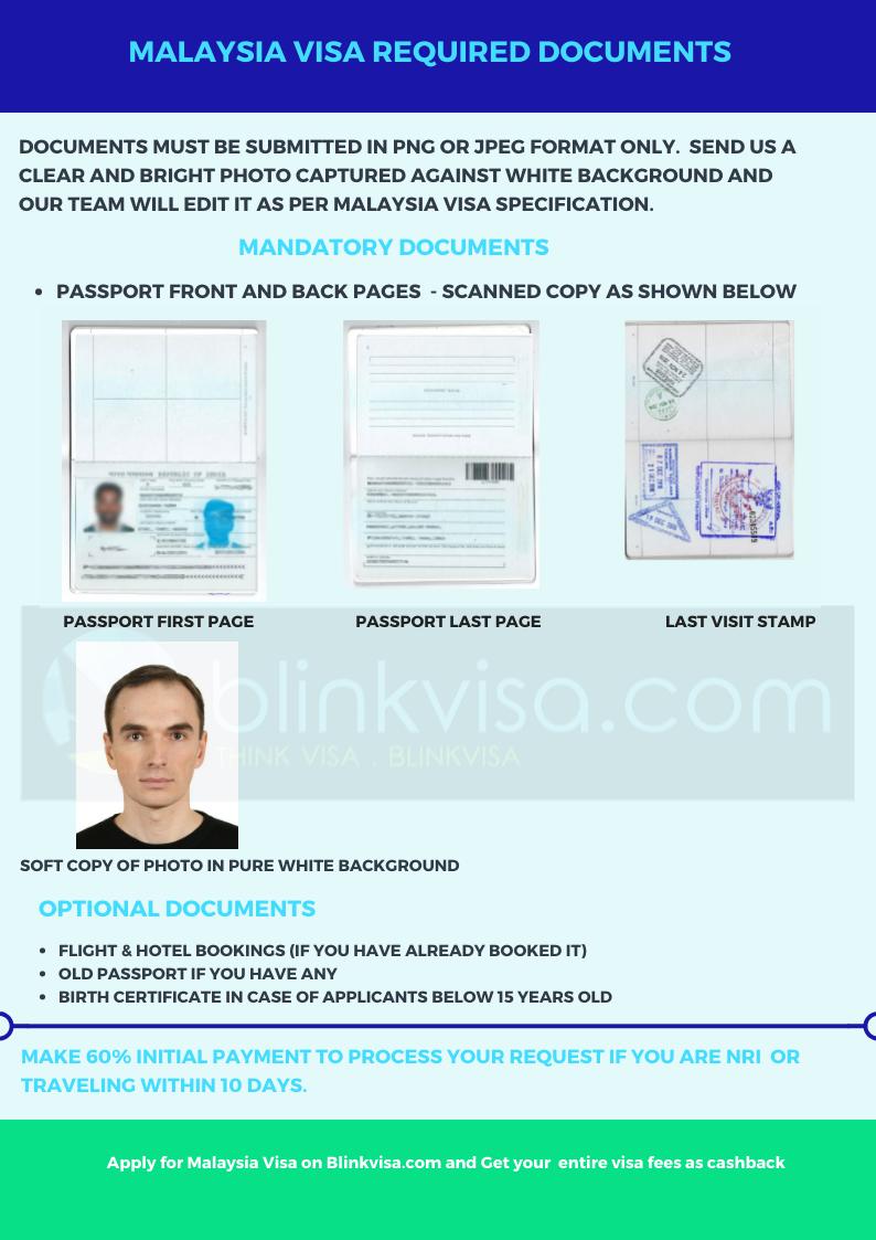 Malaysia Multiple Entry Tourist Visa Apply For Visa And Get 100 Cashback Blinkvisa