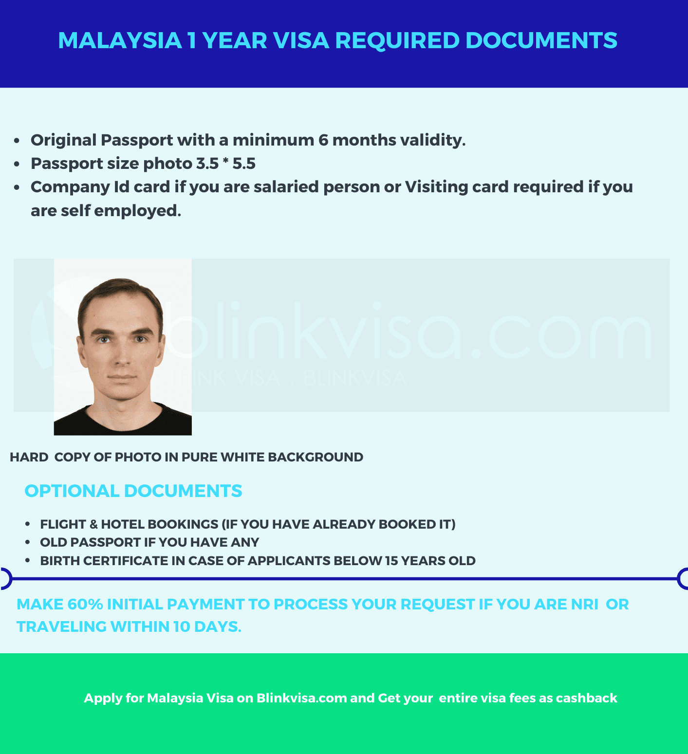 Malaysia 1 Year Visa Requirements